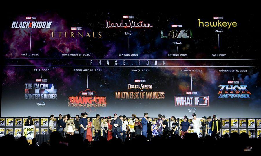 Voici le planning officiel de la phase 4 du Marvel Cinematic Universe