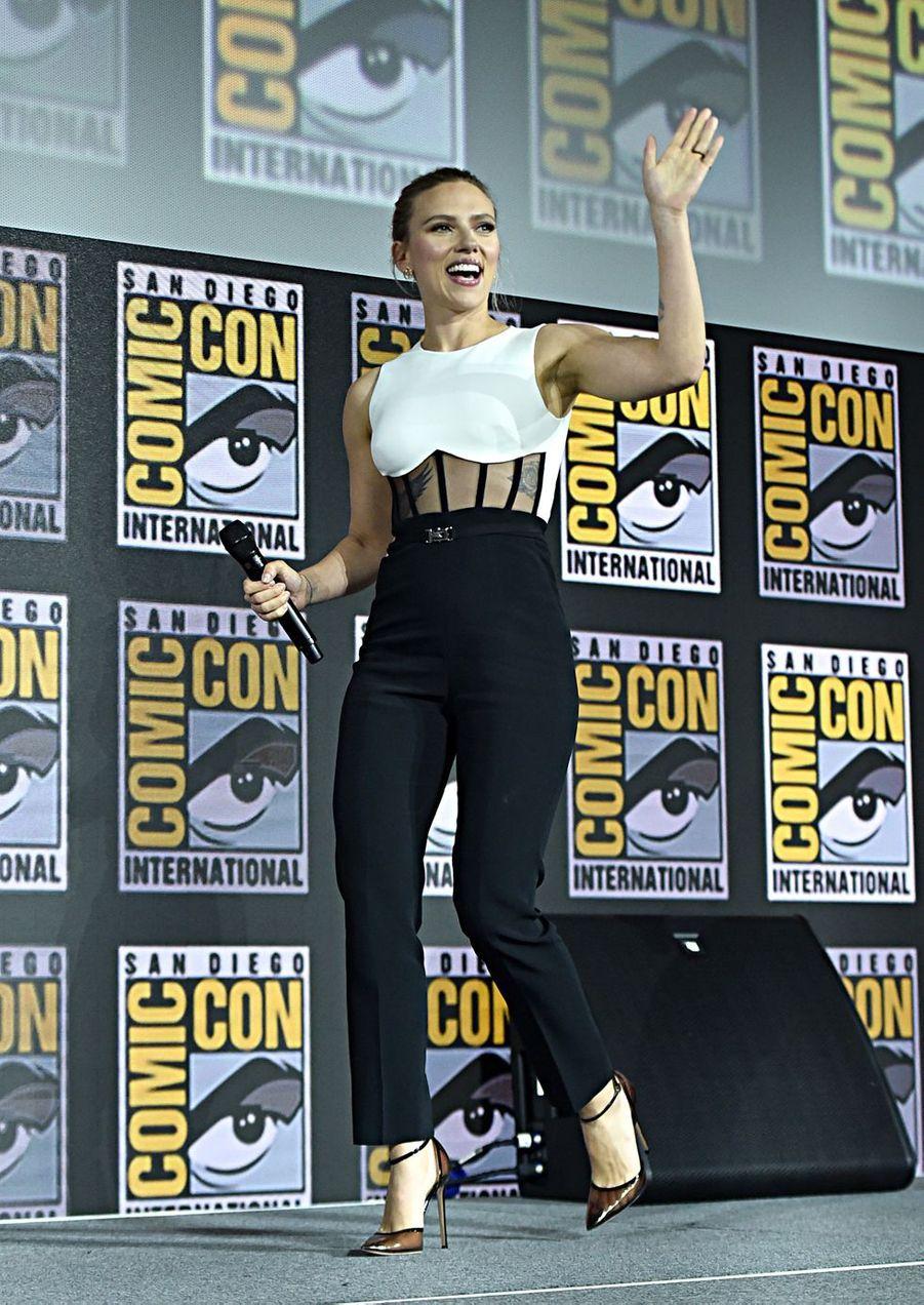 Scarlett Johanssonau Comic-Con à San Diego le 20 juillet 2019