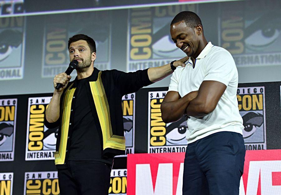 Sebastian Stan et Anthony Mackieau Comic-Con à San Diego le 20 juillet 2019