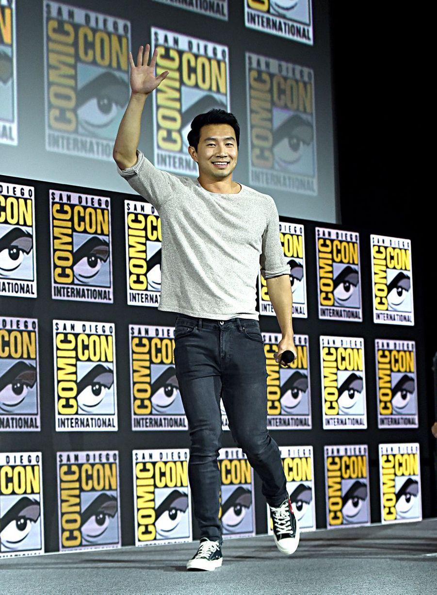 Simu Liu au Comic-Con à San Diego le 20 juillet 2019