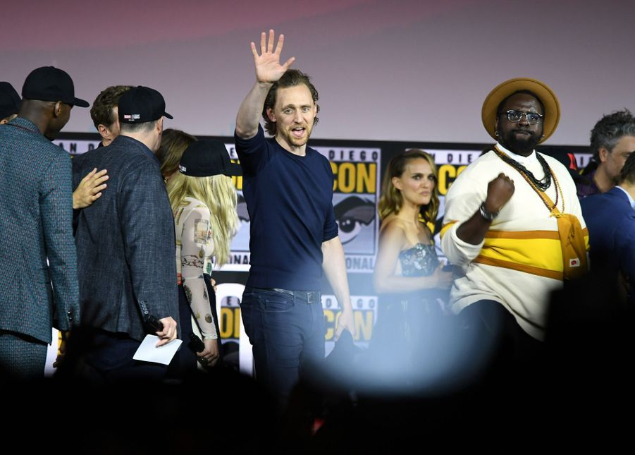 Tom Hiddleston au Comic-Con à San Diego le 20 juillet 2019