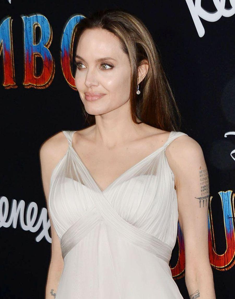 Angelina Jolie à la première de Dumbo à Los Angeles, le 11 mars 2019