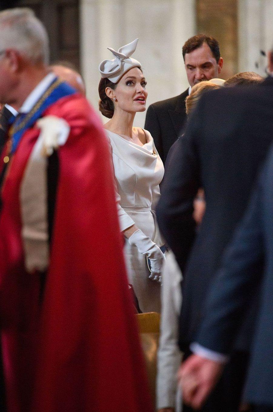 Angelina Jolie à Londres le 28 juin 2018