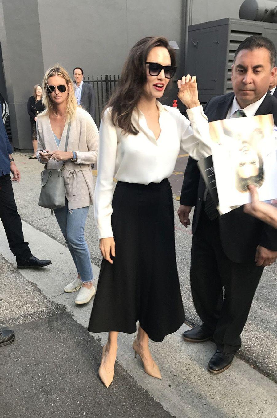 Angelina Jolie à Los Angeles, le dimanche 17 septembre 2017.