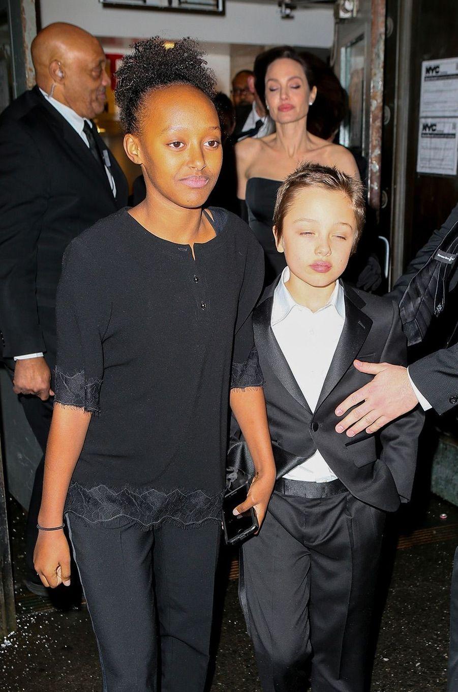 Les enfants d'Angelina Jolie