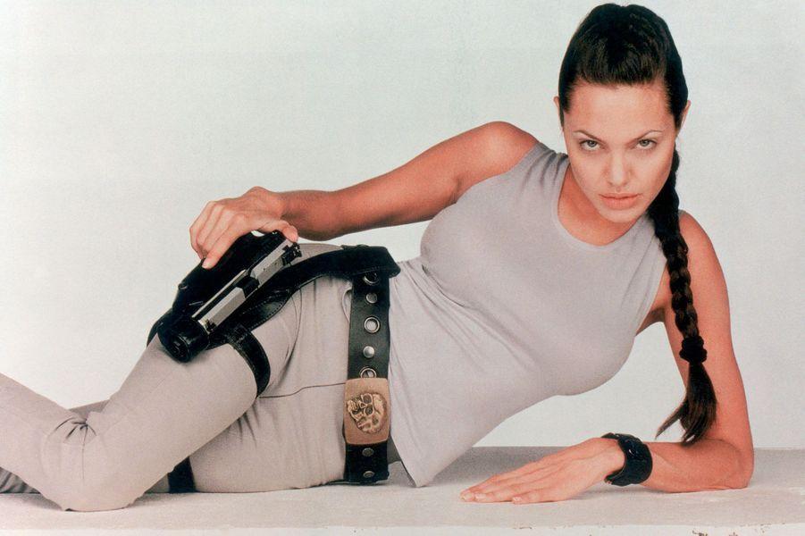 Angelina Jolie en 2001.