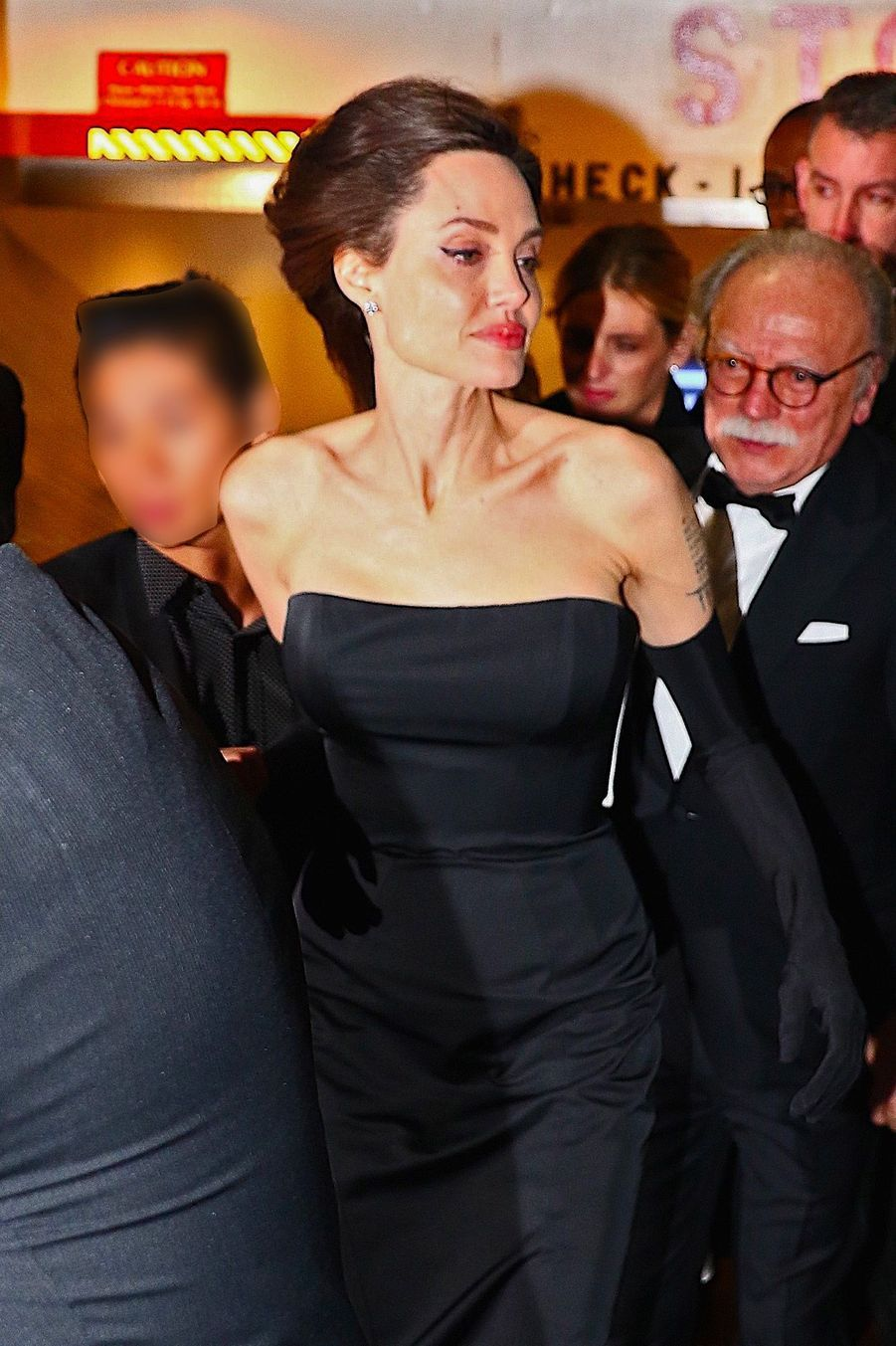 Angelina Jolie, à New York, le 15 décembre 2017.