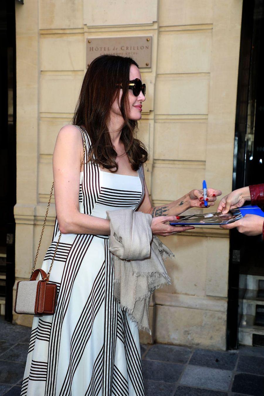 Angelina Jolie à Paris le 9 juillet 2019