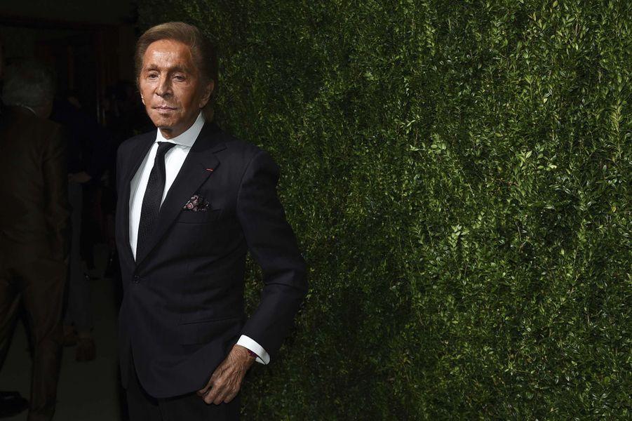 Valentino aux CFDA Fashion Awards, à New York, le 6 novembre 2017.