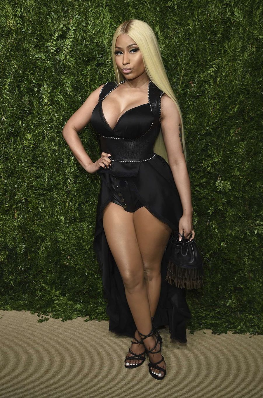 Nicki Minaj aux CFDA Fashion Awards, à New York, le 6 novembre 2017.
