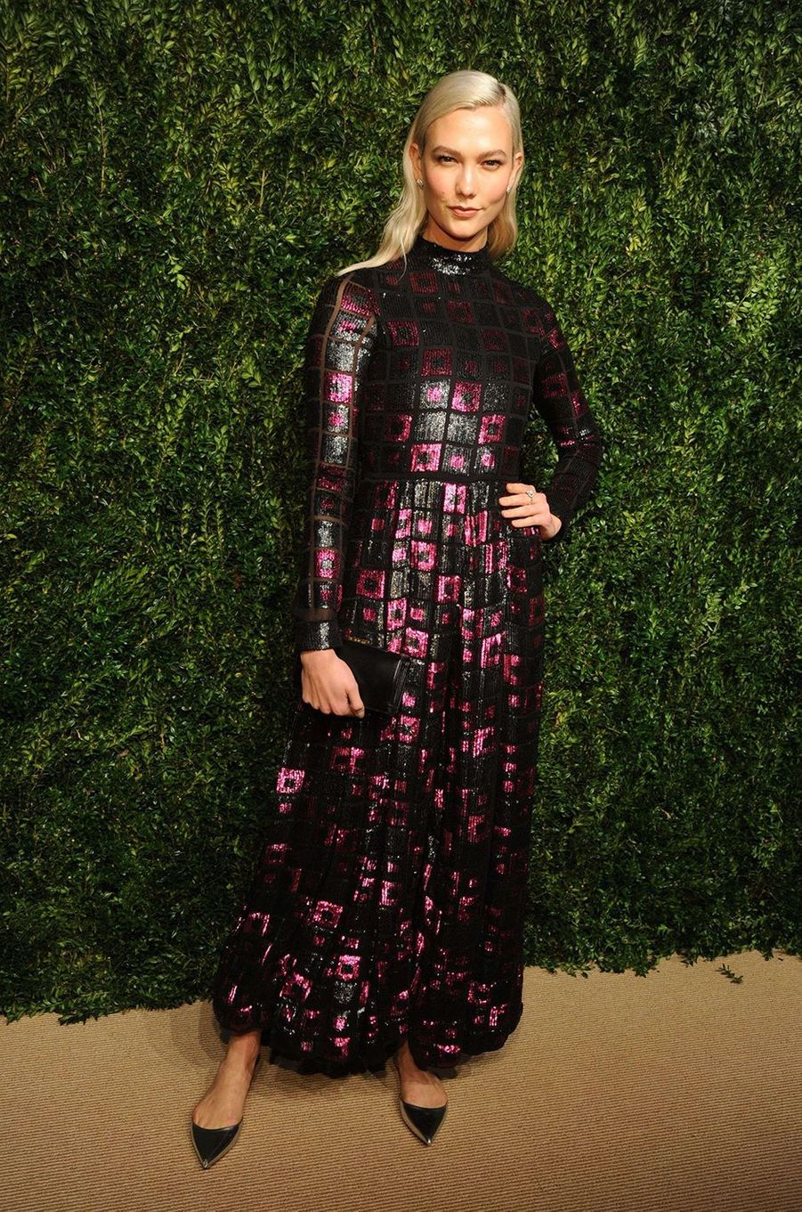 Karlie Kloss aux CFDA Fashion Awards, à New York, le 6 novembre 2017.