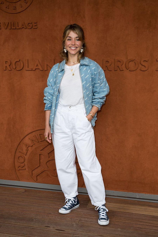 Alice Isaazà Roland-Garros le 3 juin 2019