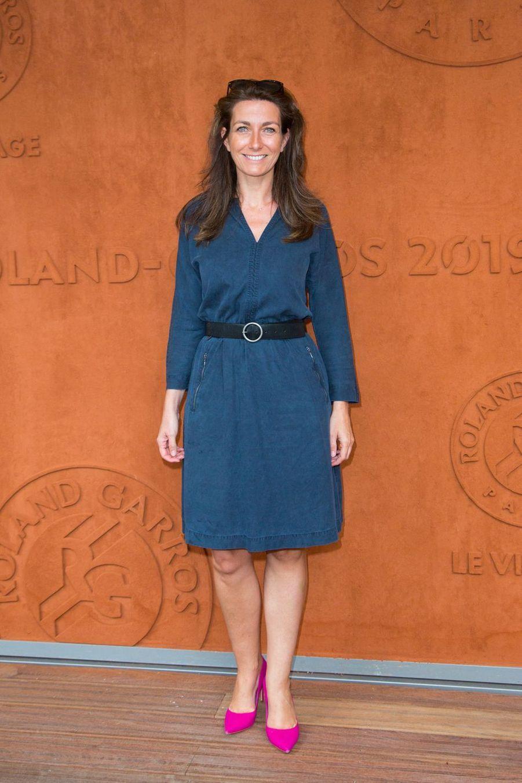 Anne-Claire Coudray à Roland-Garros le 3 juin 2019