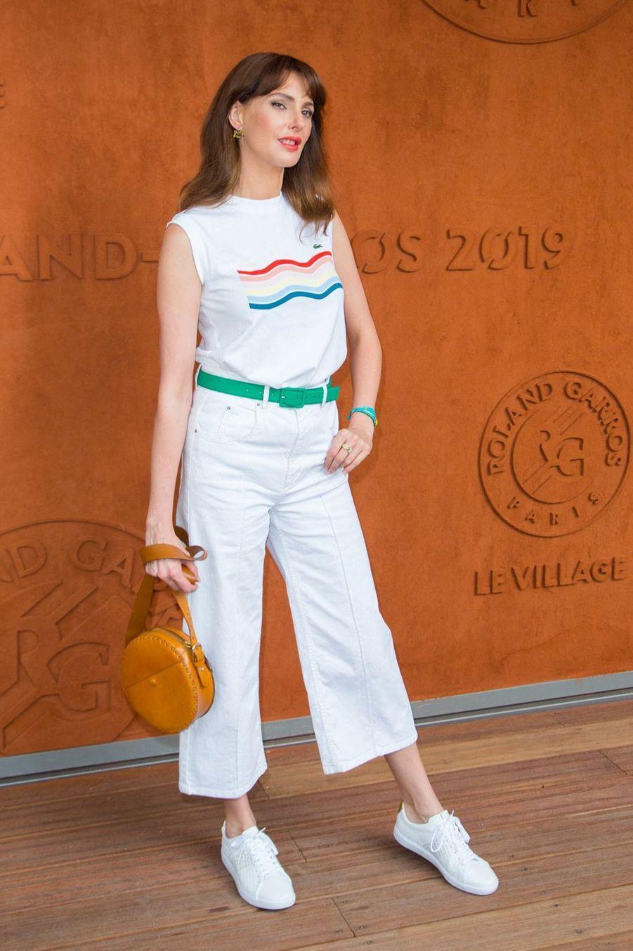 Frédérique Belà Roland-Garros le 3 juin 2019