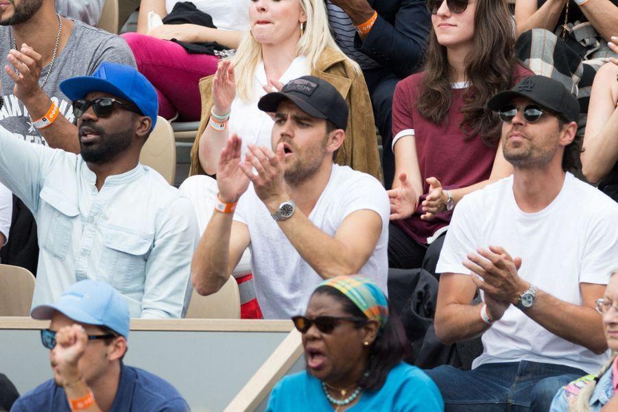 Paul Wesleyà Roland-Garros le 3 juin 2019