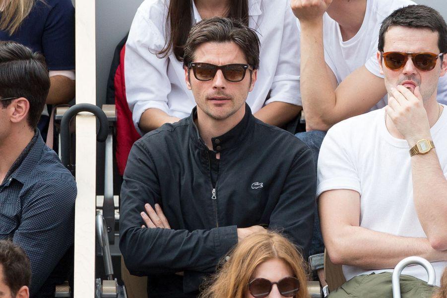 Raphaël Personnazà Roland-Garros le 3 juin 2019