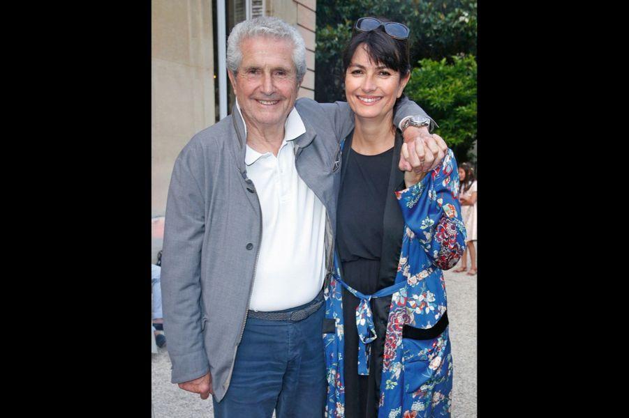 Claude Lelouch et Valérie Perrin.
