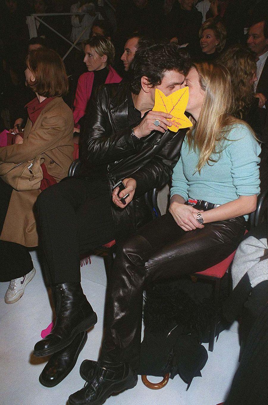 Marc Lavoine et Sarah en 2000.