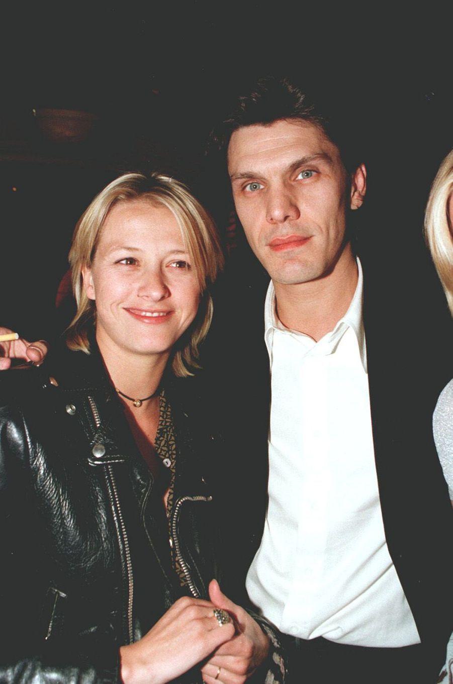 Marc Lavoine et Sarah en 1997.