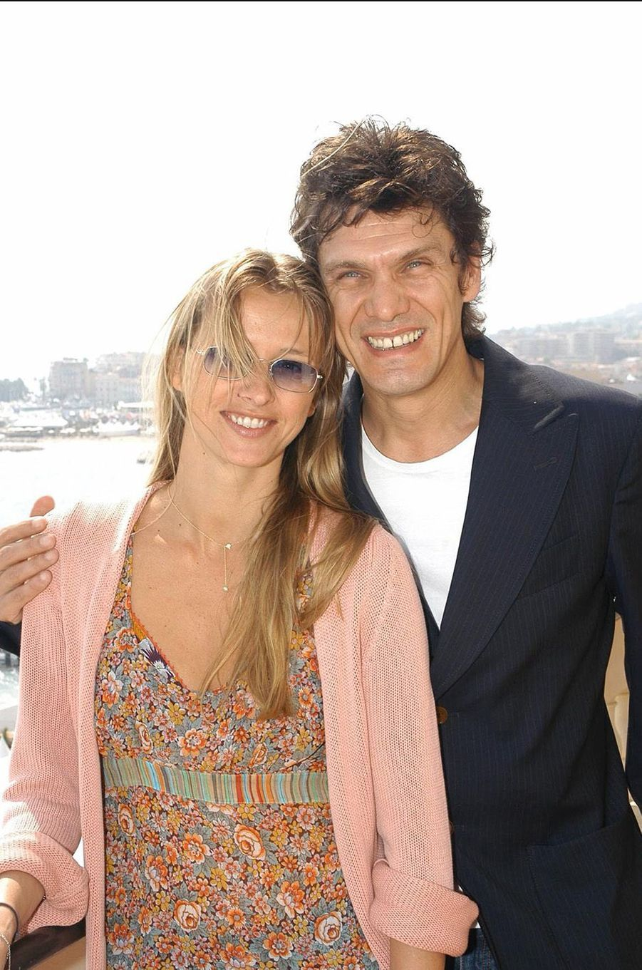 Marc Lavoine et Sarah au temps du bonheur.