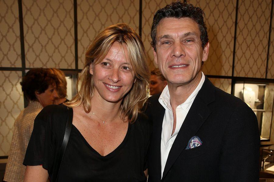 Marc Lavoine et son épouse Sarah au temps du bonheur.