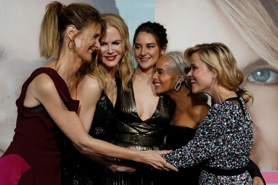 Reese Witherspoon, Nicole Kidman, Zoé Kravitz, Shailene Woodley, Laura Dern