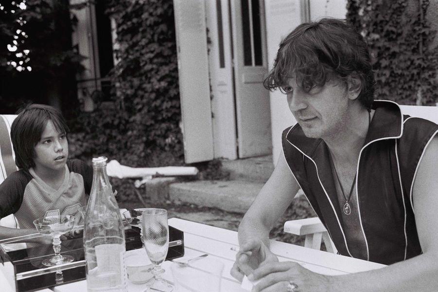 Jacques Higelin avec Kên dans les années 70.