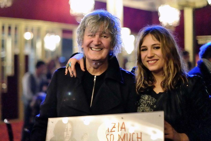 Jacques Higelin avec sa fille sa muse Izïa.