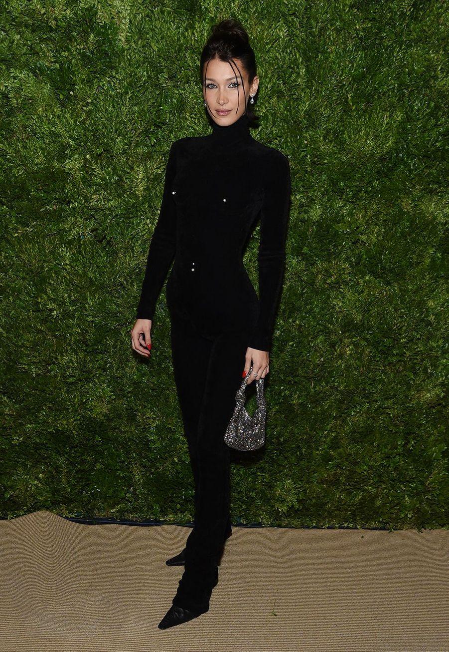 Bella HadidauxCFDA Vogue Fashion Fund Awards à New York le 4 novembre 2019