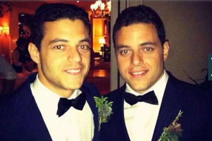 Rami Malek et son frère jumeau Sami
