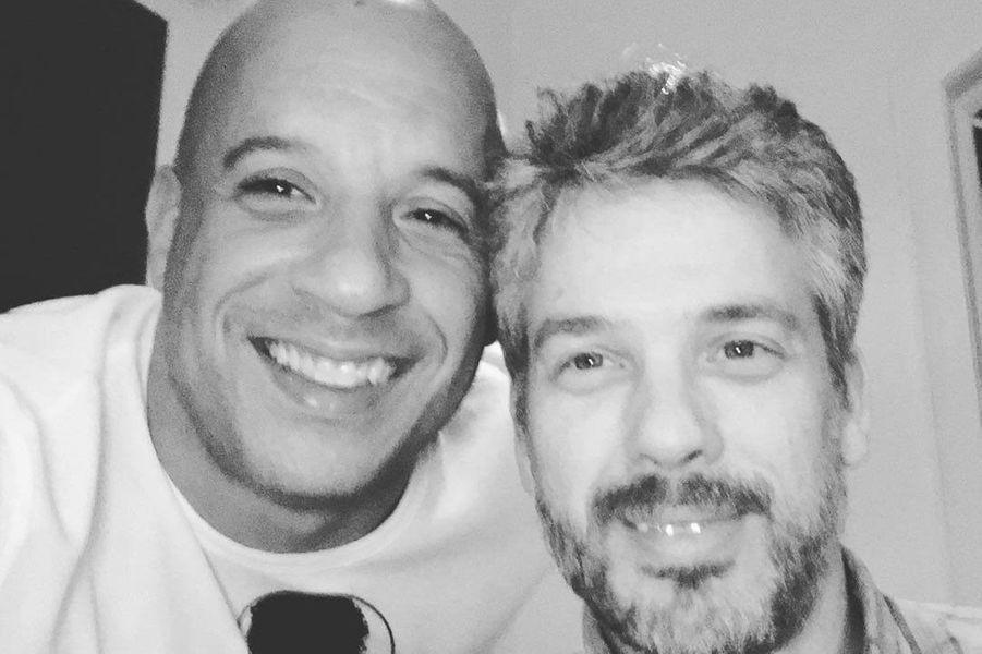 Vin Diesel et son frère jumeau Paul Vincent