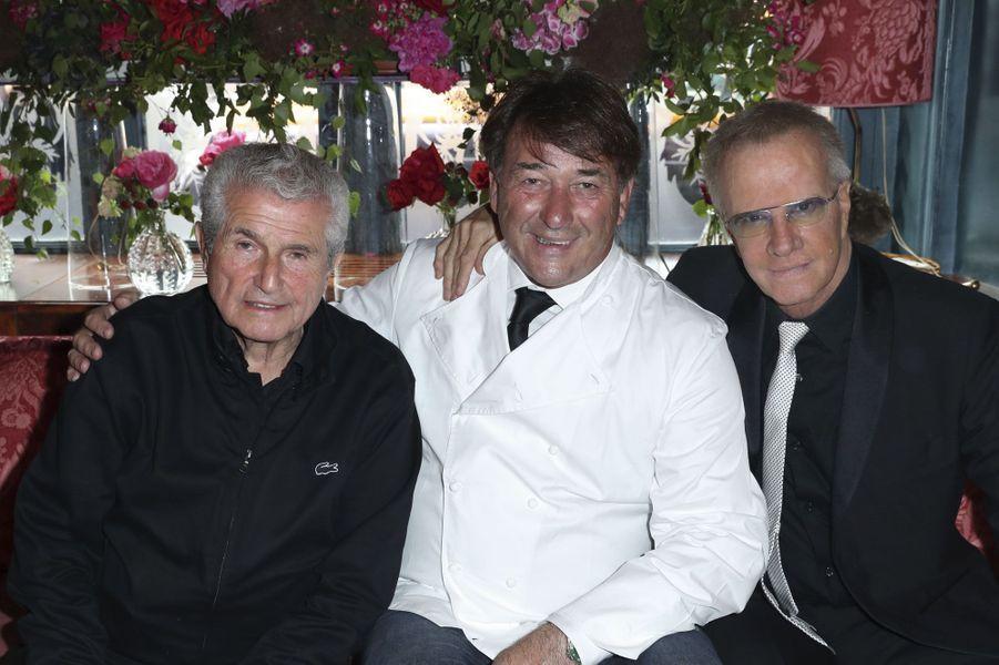 Claude Lelouch, Jean-Pierre Vigato, Christophe Lambert.