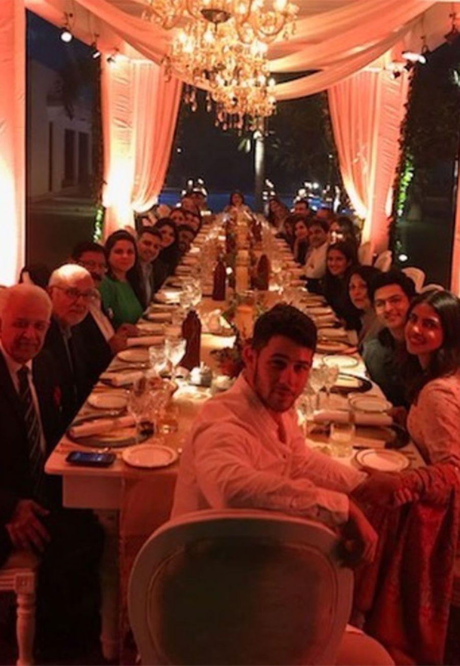Priyanka Chopra a fêté Thanksgiving en Inde