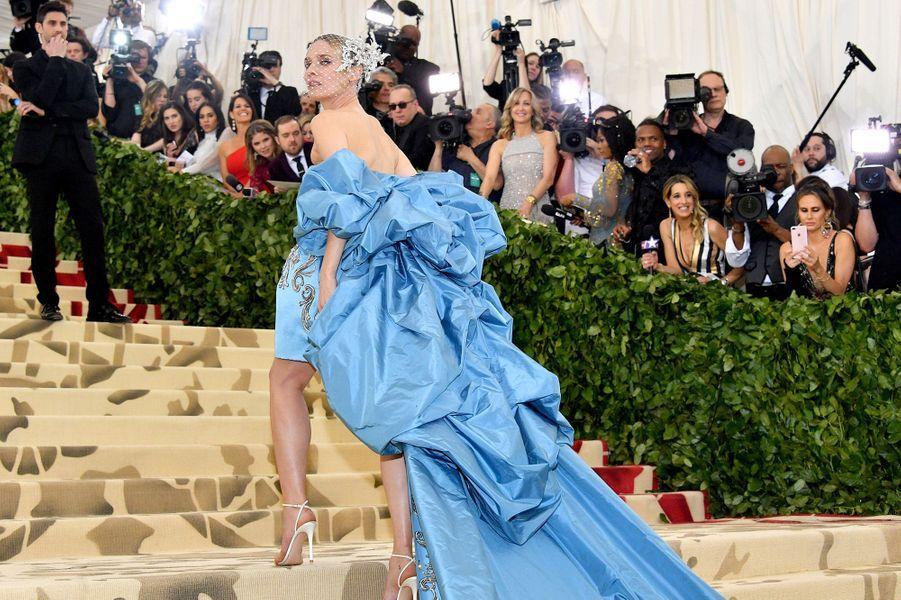 Diane Krugerau Met Gala 2018, à New York le 7 mai 2018.