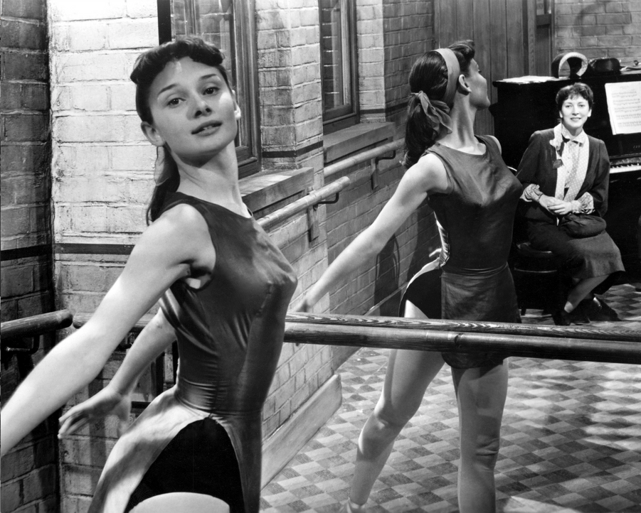 Audrey Hepburn en 1950