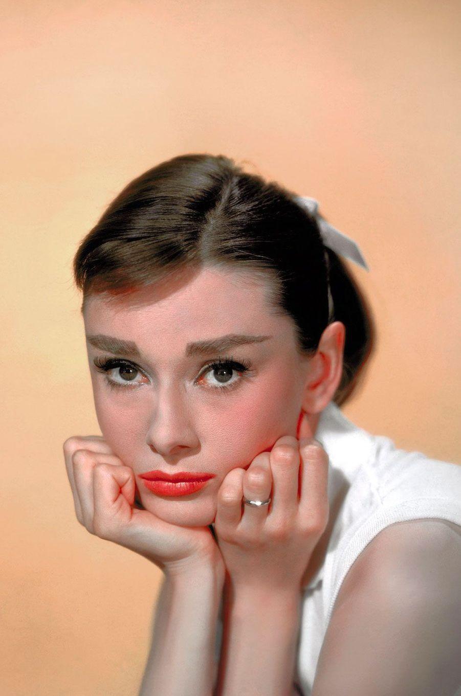 Audrey Hepburn en 1957