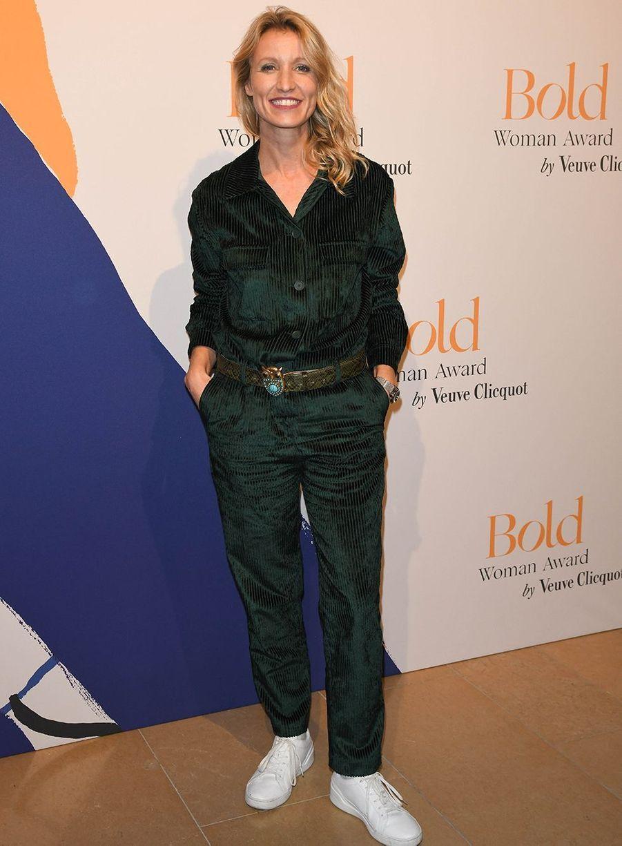 Alexandra Lamylors desBold Woman Awards à Paris le jeudi 14 novembre2019.