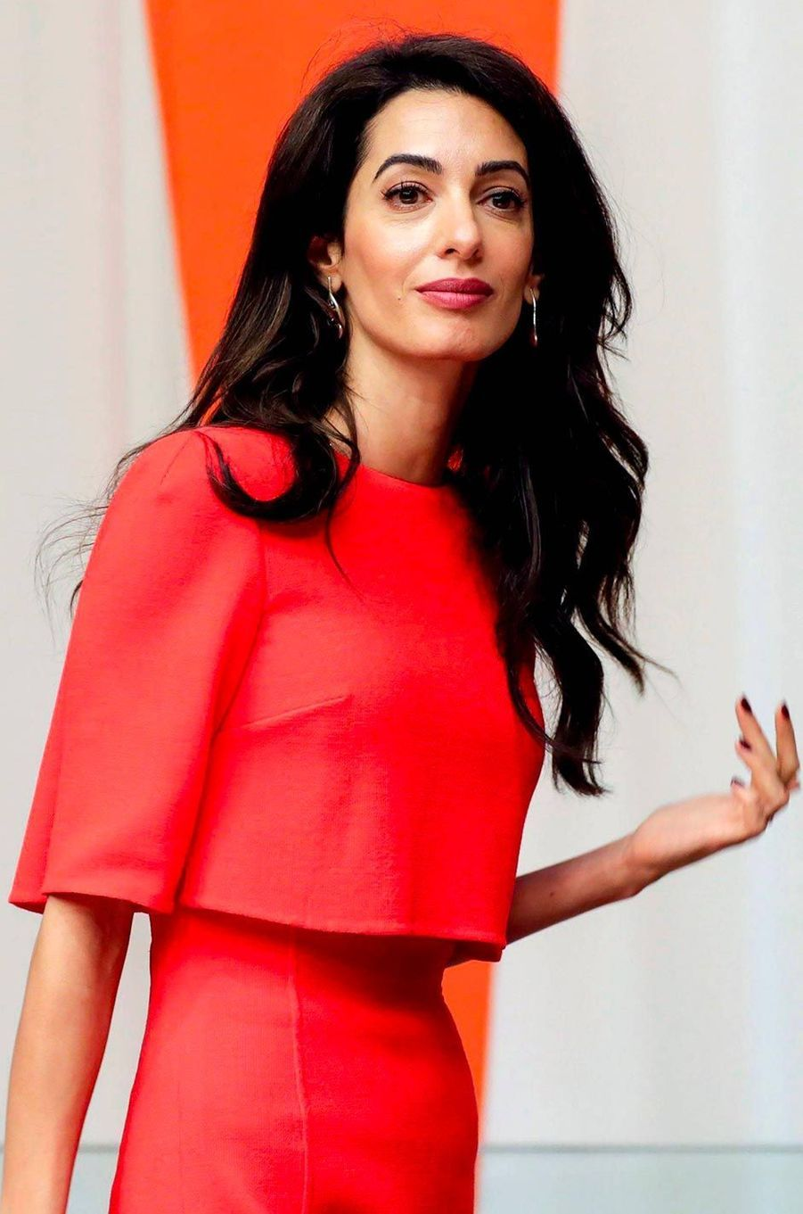 Amal Clooney à New York, le 28 septembre 2018.