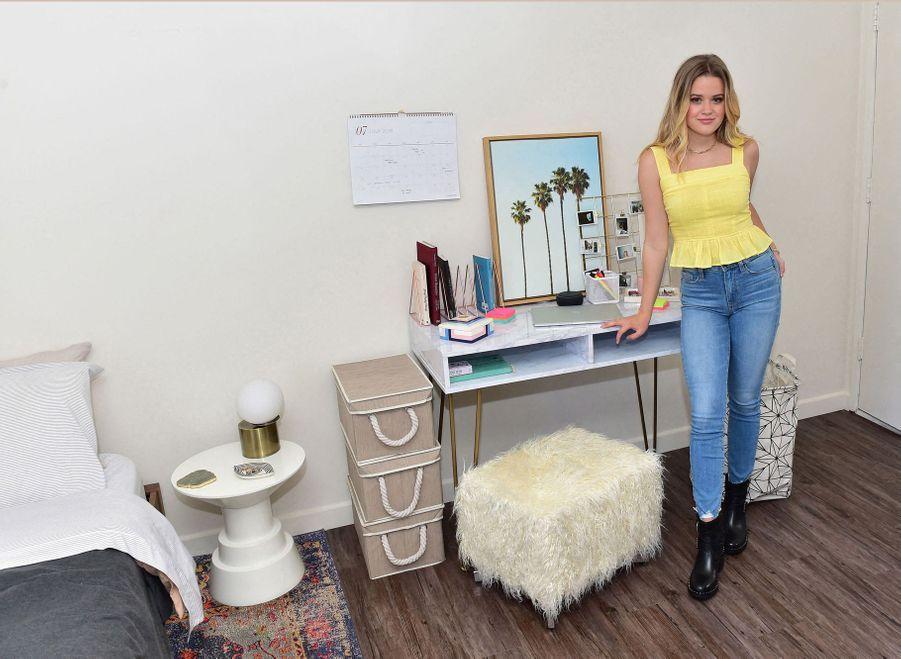 Ava Phillippe dans sa chambre universitaire de Berkeley le 19 juin 2019