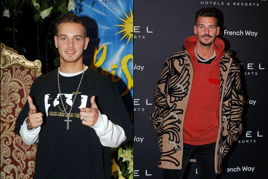 Matt Pokora en 2005 et 2019