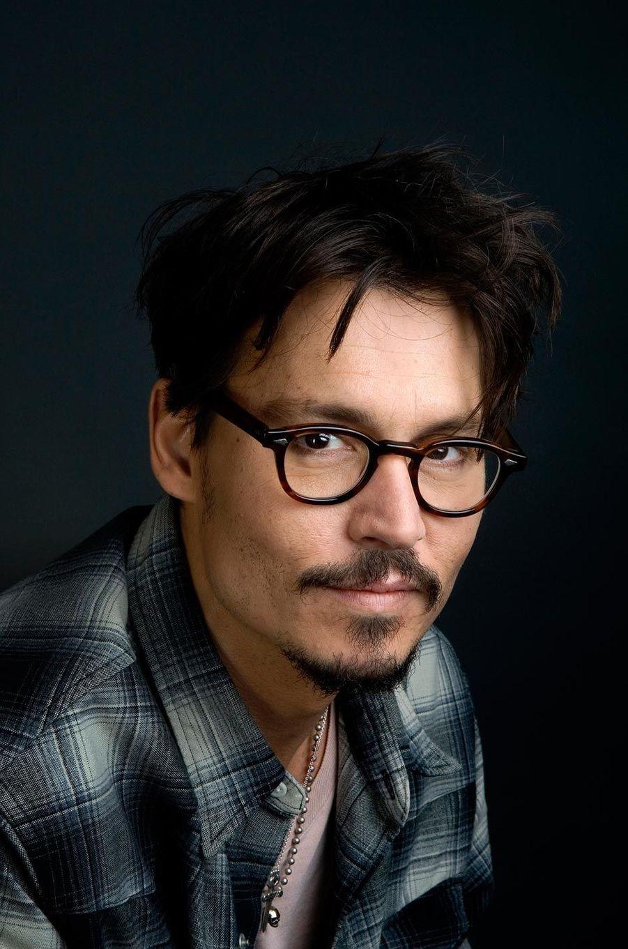 Johnny Depp en 2008, après la sortie du film «Sweeney Todd»