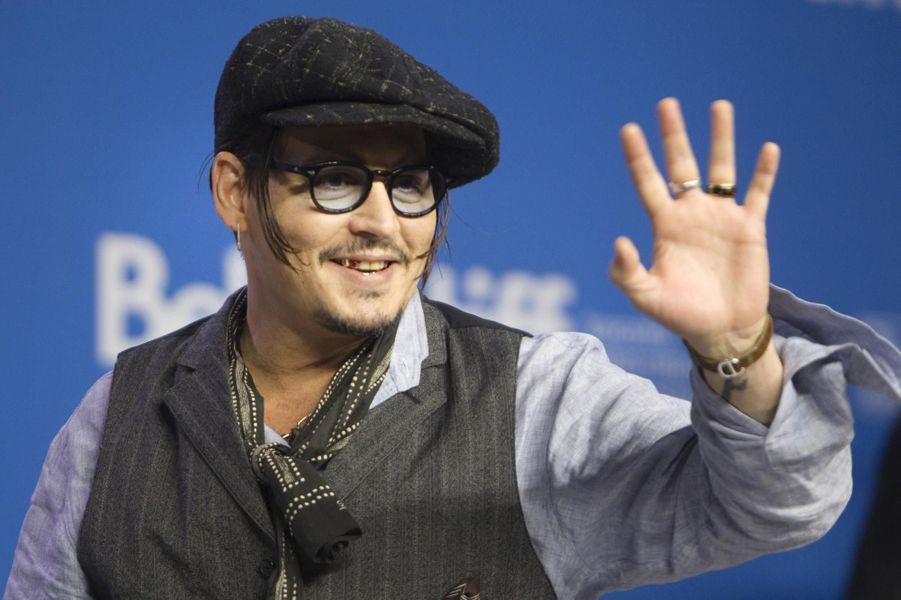 Johnny Depp à Toronto au Canada en 2015.