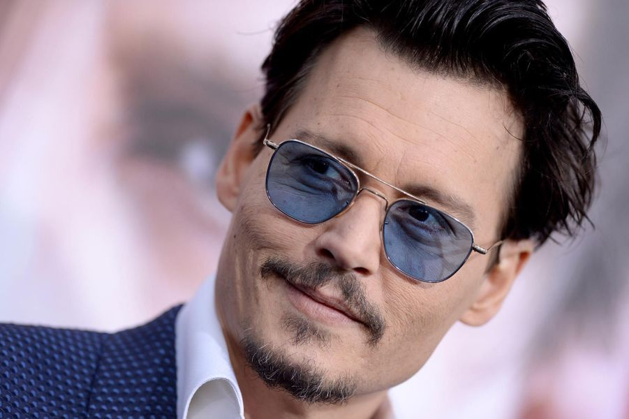Le comédien Johnny Depp à Los Angeles