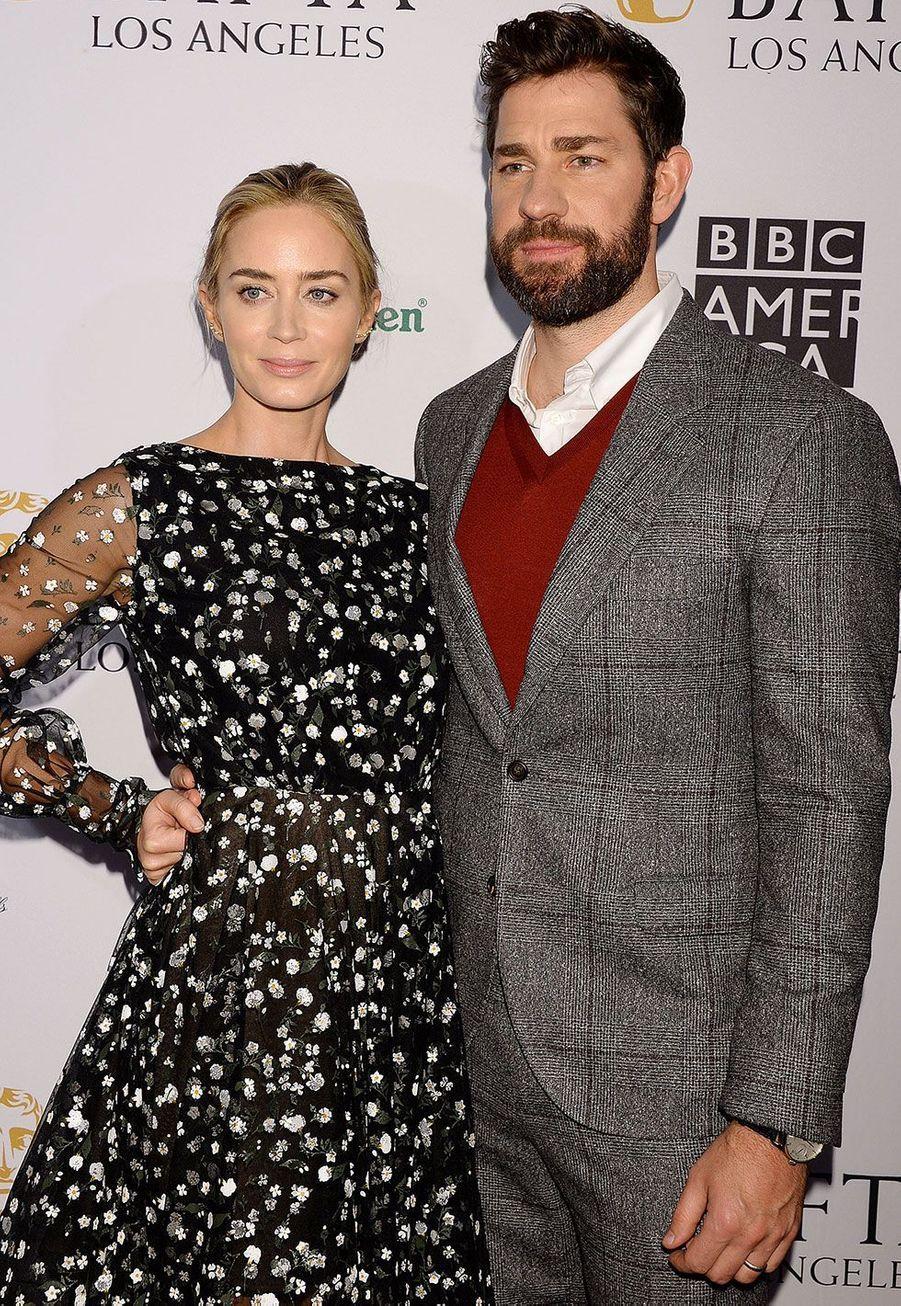 Emily Blunt et son épouxJohn Krasinski