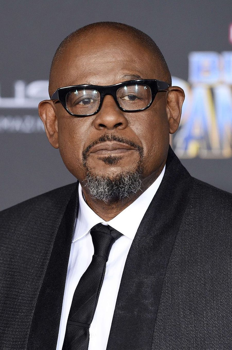 """Forest Whitaker à l'avant-première de """"Black Panther"""" à Los Angeles, le 29 janvier 2018."""