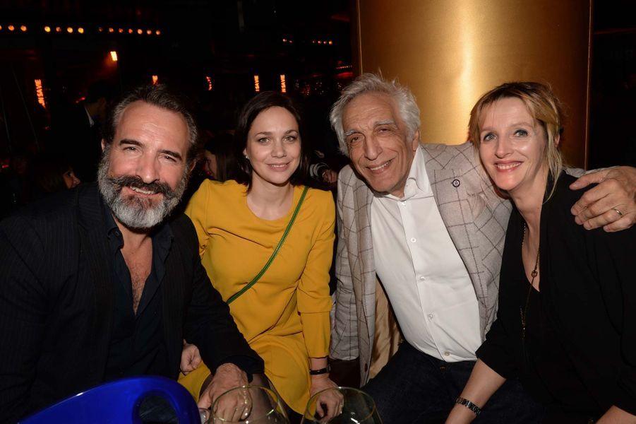 Jean Dujardin, Natalie Péchalat, Gérard Darmon et sa femme Christine