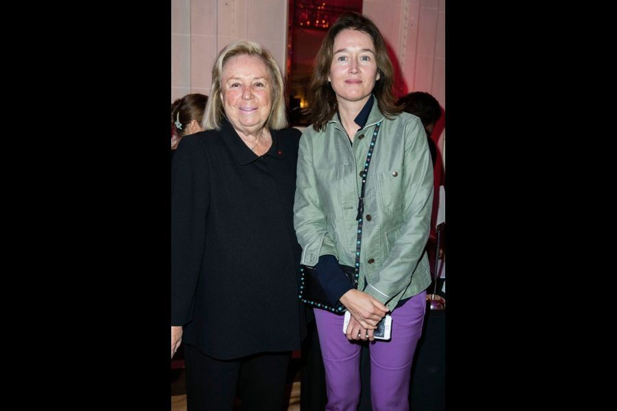Maryvonne Pinault, Diane de Mac Mahon.