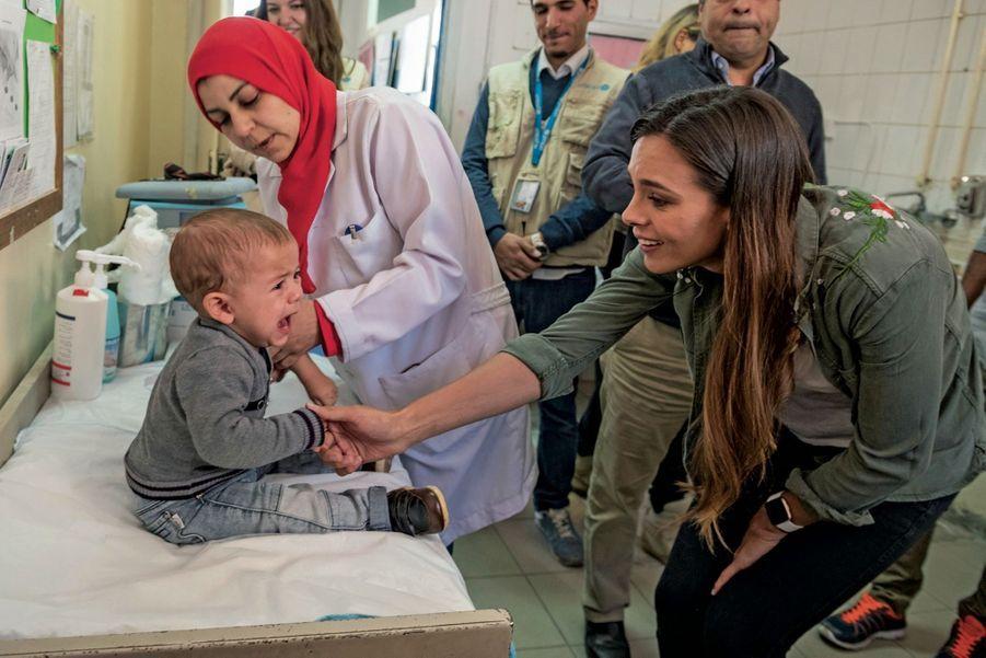 L'épreuve du vaccin au centre médical d'Abu Nseir, à Amman