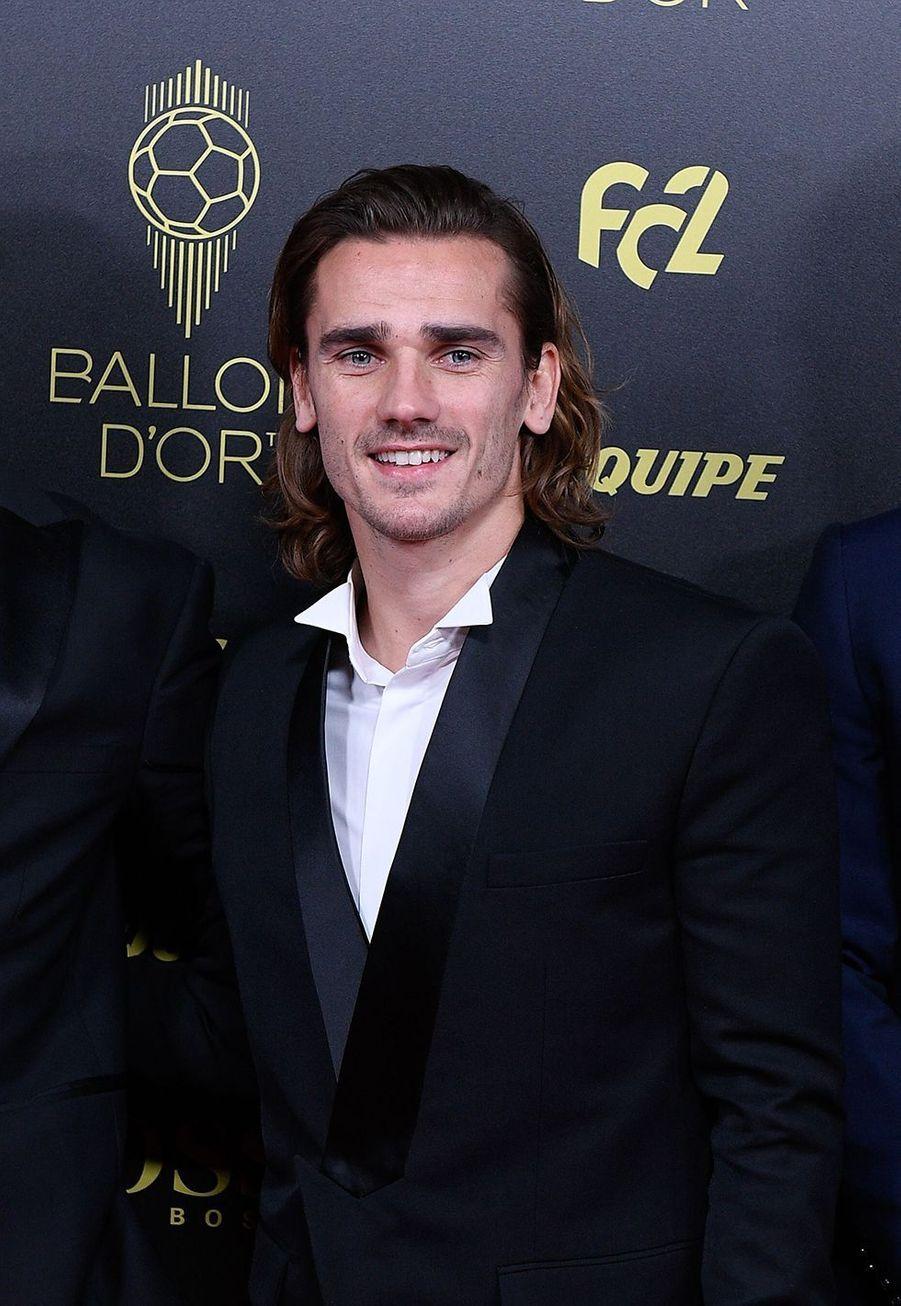 Antoine Griezmannà la cérémonie du Ballon d'Or 2019 à Paris le 2 décembre 2019