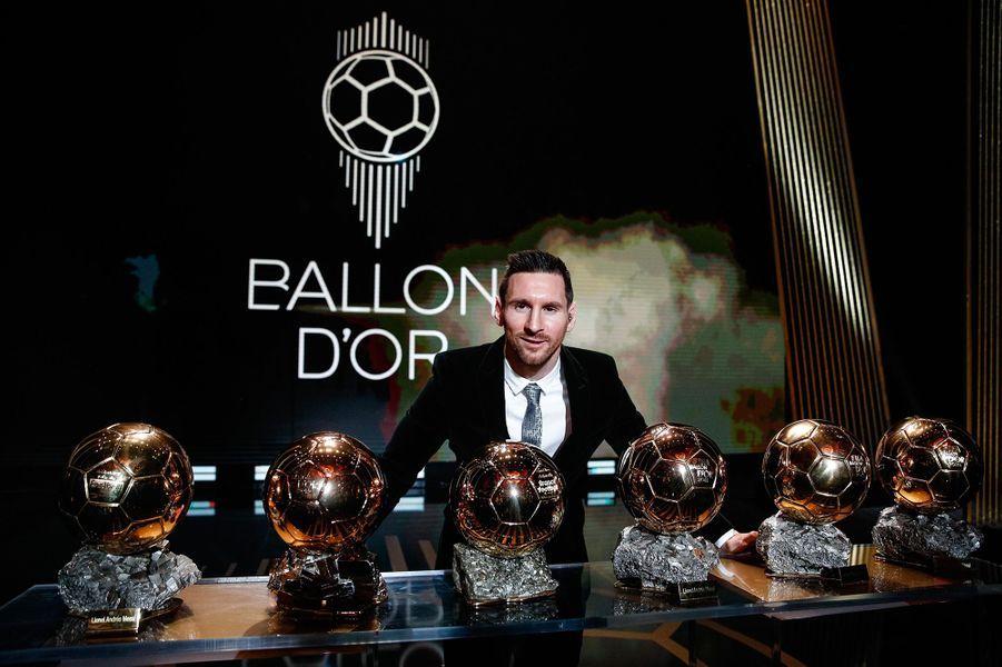 Lionel Messià la cérémonie du Ballon d'Or 2019 à Paris le 2 décembre 2019